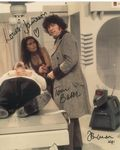 Tom Baker, Louise Jameson, John Leeson - Multi signed original autograph not a copy 10257